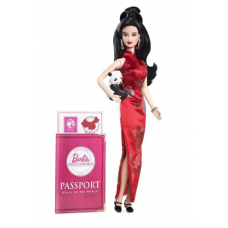 Boneca Barbie Collector Doll of the World China - Mattel