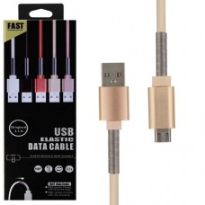 Cabo USB Elastic Data Cable 3.1A